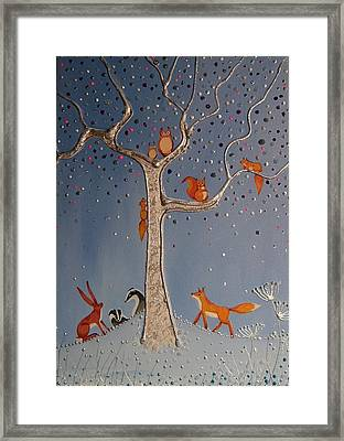 The Meeting Place Framed Print