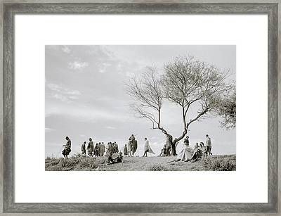 The Meeting Framed Print by Shaun Higson
