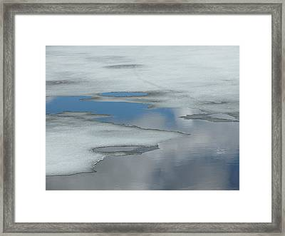 Framed Print featuring the photograph The Melt by Gene Cyr