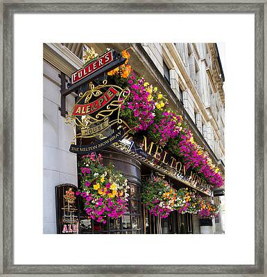 The Melton Mowbray Framed Print