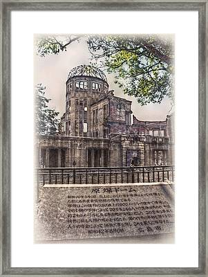 The Memorial Framed Print by Hanny Heim
