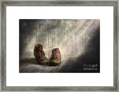 The Memories Begin To Live .. Framed Print