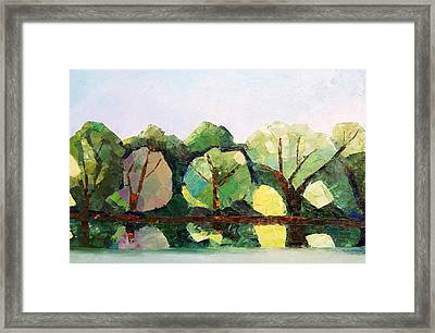 Emajogi Reflections Framed Print