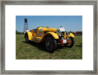 The Mercer Raceabout Roadster Framed Print