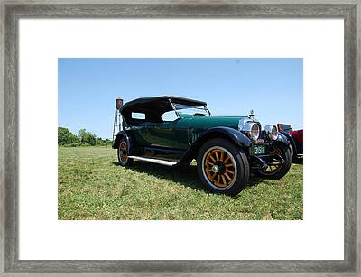 The Mercer Touring Coupe Framed Print