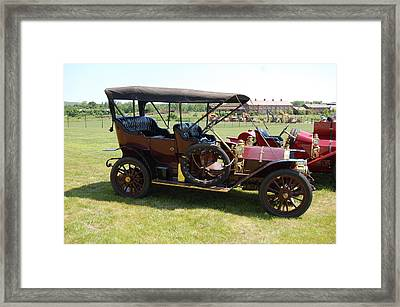 The Mercer Touring Sedan Framed Print