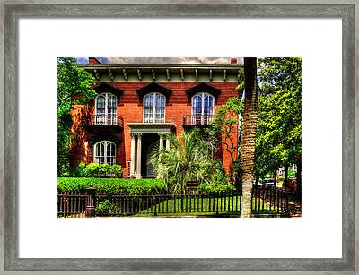 The Mercer Williams House Framed Print
