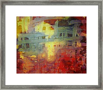 The Mercy Of God That Gives Freedom To The Captives Framed Print by Lalo Gutierrez