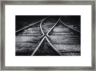 The Merger Framed Print by James Barber