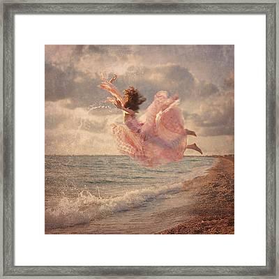 The Mermaid Framed Print by Anka Zhuravleva