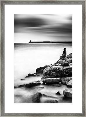 The Mermaid Framed Print by Ian Hufton