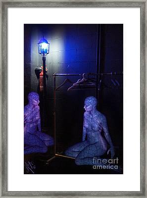 The Mermaids Dresser Framed Print by Rosa Cobos