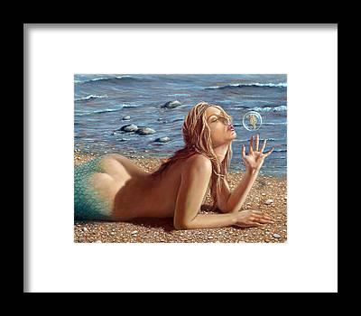 Pebbles Framed Prints