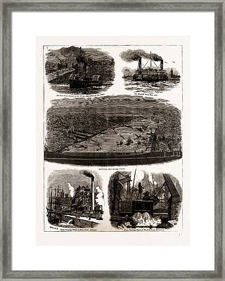 The Mersey Tunnel Opened By The Prince Of Wales Framed Print by Litz Collection