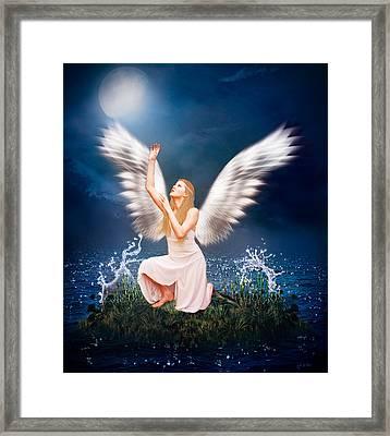 The Messenger Framed Print by Ester  Rogers