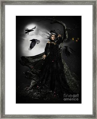 The Messengers Framed Print by Shanina Conway
