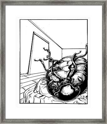 The Metamorphosis Framed Print by John Ashton Golden