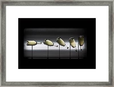 The Method. Ca Del Bosco Winery. Franciacorta Docg Framed Print