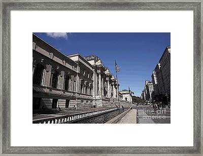 The Metropolitan Museum Framed Print