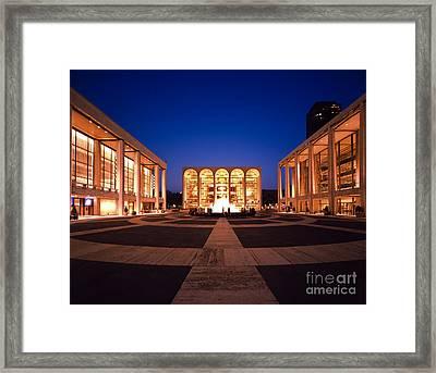 The Metropolitan Opera House Framed Print by Rafael Macia