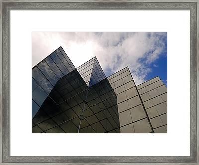 The Metropolitan View Framed Print by Steven Milner