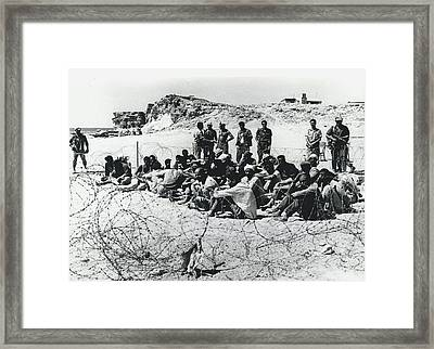 The Middle East Wars  Framed Print