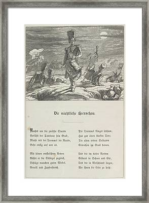 The Midnight Muster Framed Print by British Library