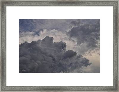 The Mighty Hand Of God Framed Print by Paulette B Wright