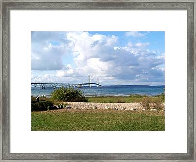 The Mighty Mac Framed Print by Jennifer  King