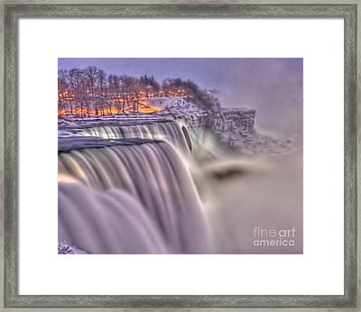 The Mighty Niagara Framed Print by Jim Lepard