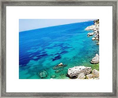 The Mighty Ocean Framed Print