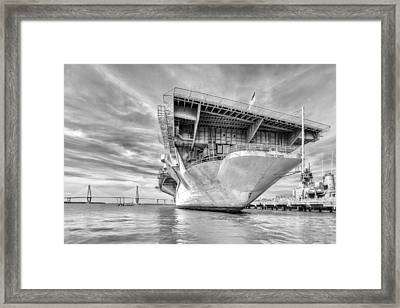 The Mighty Yorktown Framed Print