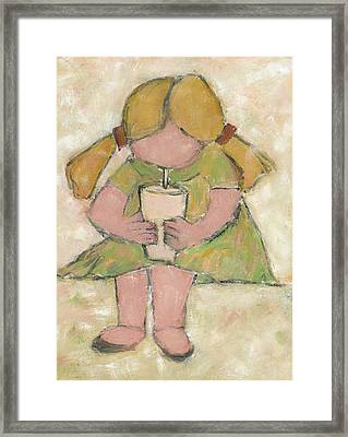 The Milkshake Framed Print by David Dossett