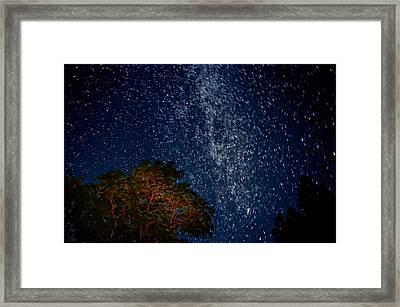 The Milky Way 2 Framed Print by Steve Harrington