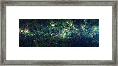 The Milky Way Framed Print by Adam Romanowicz