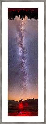 The Milky Way Framed Print by Alex Conu