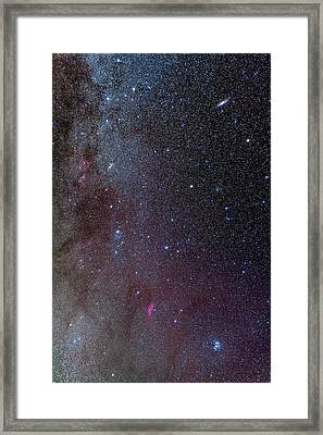 The Milky Way, From Andromeda Framed Print by Alan Dyer