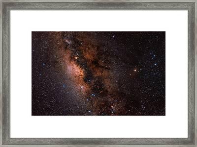 The Milky Way In Scorpius And Sagittarius Framed Print by Babak Tafreshi