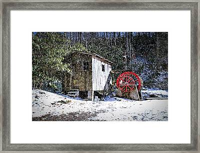 Framed Print featuring the photograph The Mill by Bill Howard