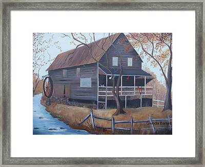 The Mill Framed Print by Glenda Barrett