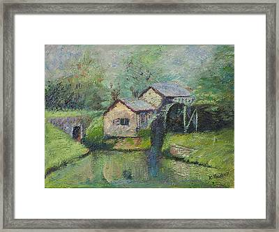 The Mill In The Mist Framed Print by William Killen
