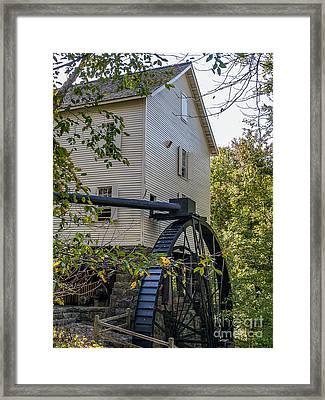 The Mill Framed Print by Ken Frischkorn