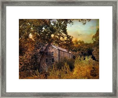 The Mill Restoration Framed Print by Jessica Jenney