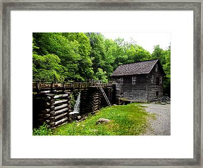 The Mill Framed Print by Russell Clenney