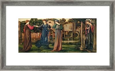 The Mill Framed Print by Sir Edward Burne-Jones