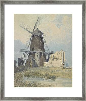 The Mill St Benet's Abbey Framed Print by John Sell Cotman