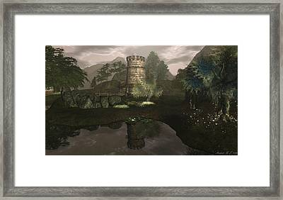 The Miller's House Framed Print by Amanda Holmes Tzafrir