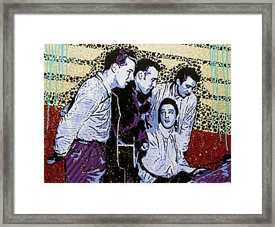 The Million Dollar Quartet  Framed Print