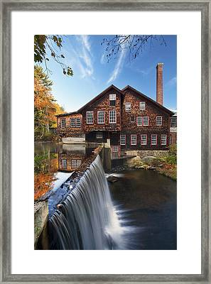 The Mills Framed Print by Eric Gendron