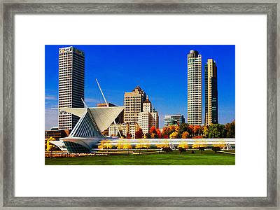 The Milwaukee Art Museum Framed Print